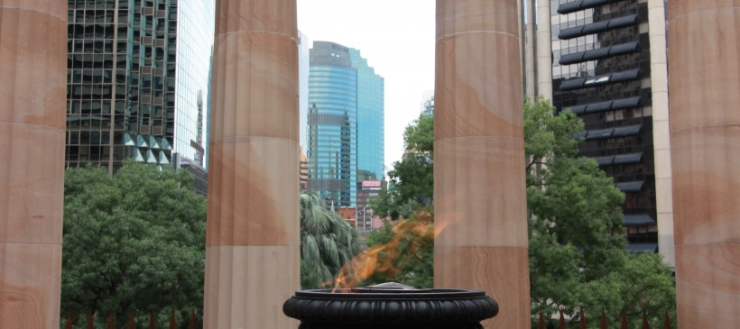 Eternal Flame, ANZAC Square, Brisbane